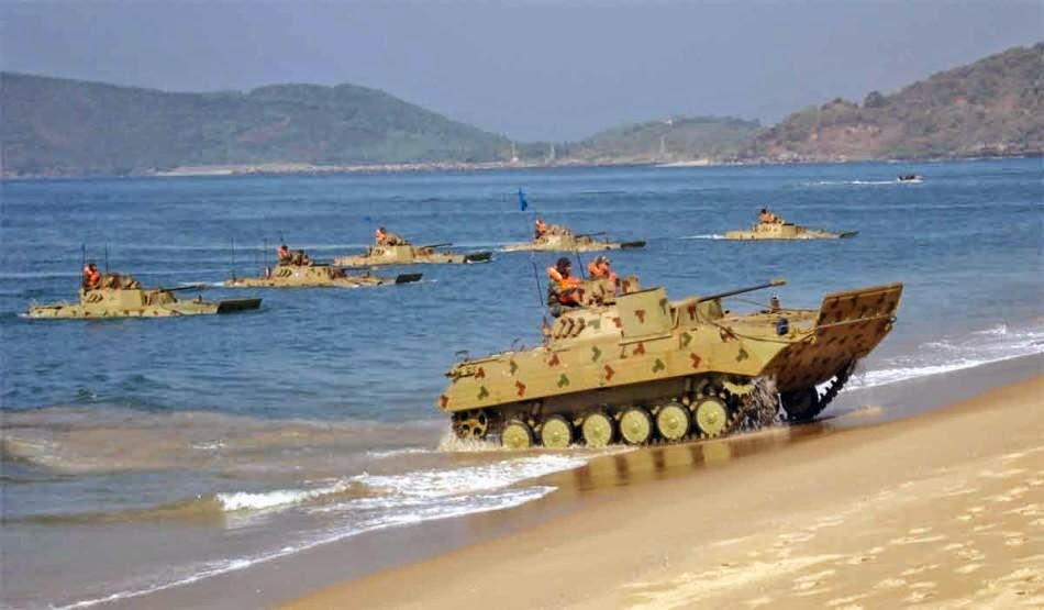 India amphibious assault training photos 4