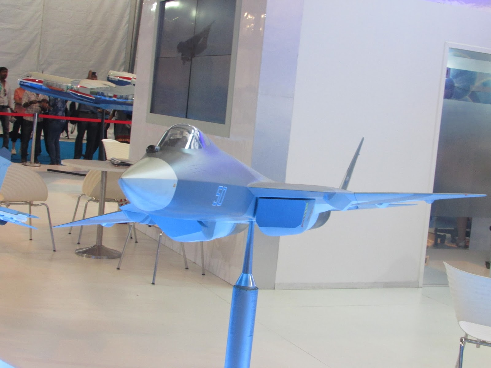 A T-50 scale model