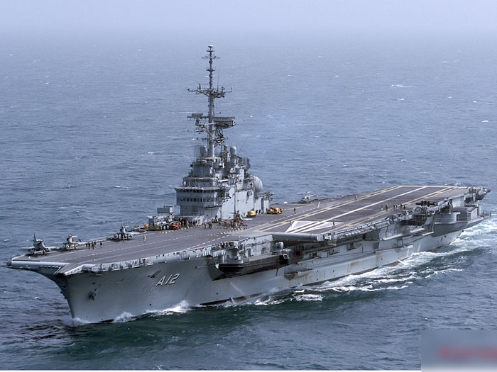 The Brazilian Navy aircraft carrier. Source - Net