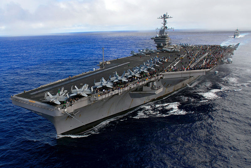 Nimitz-Class super carrier; Source - Net.