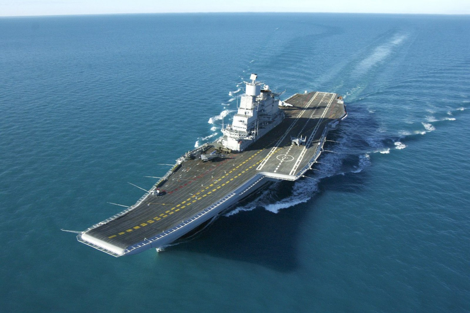 INS Vikramaditya of the Indian Navy.