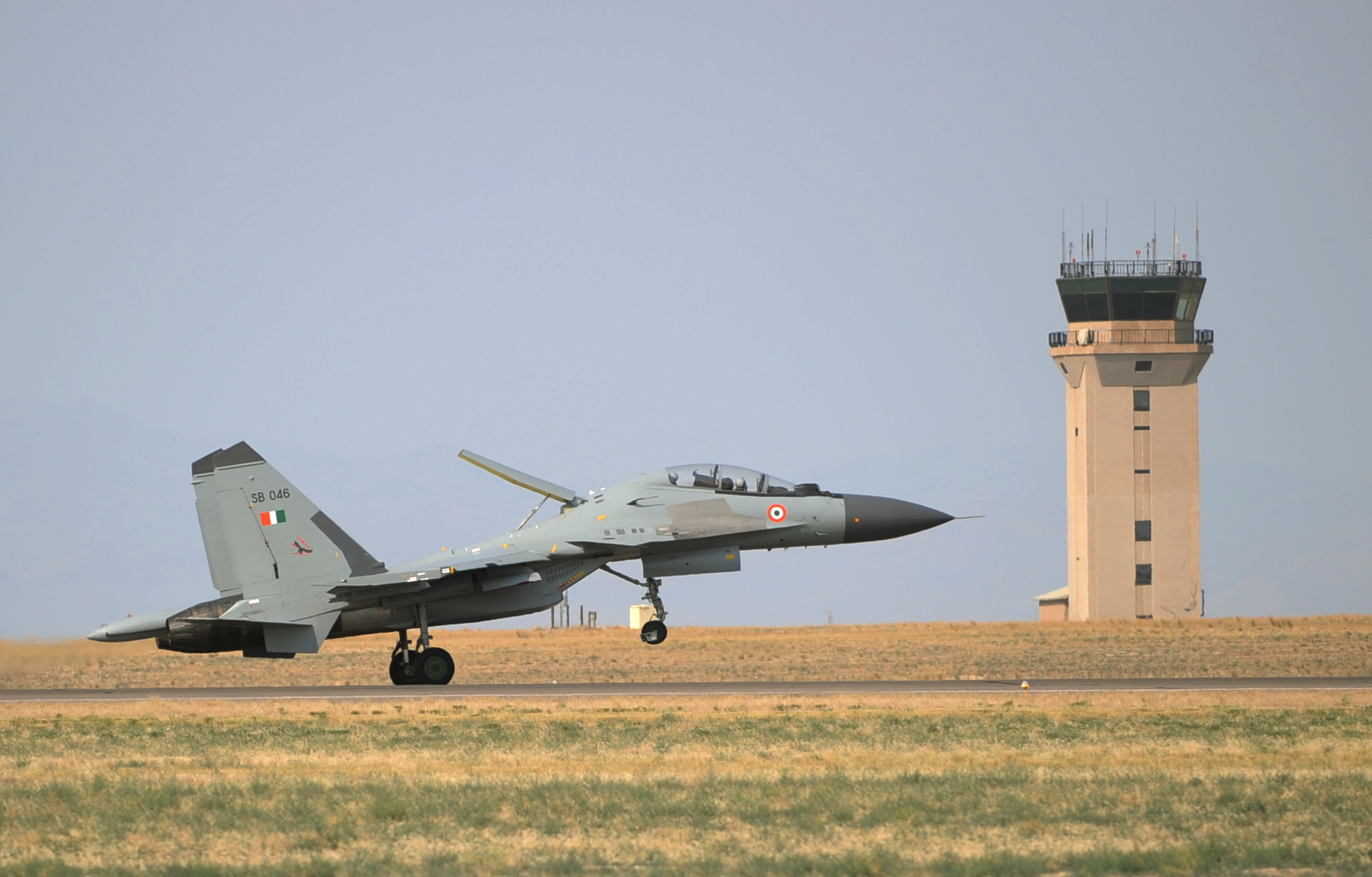 An iconic photo of the Su - 30 MKI aircraft. Source - Net.