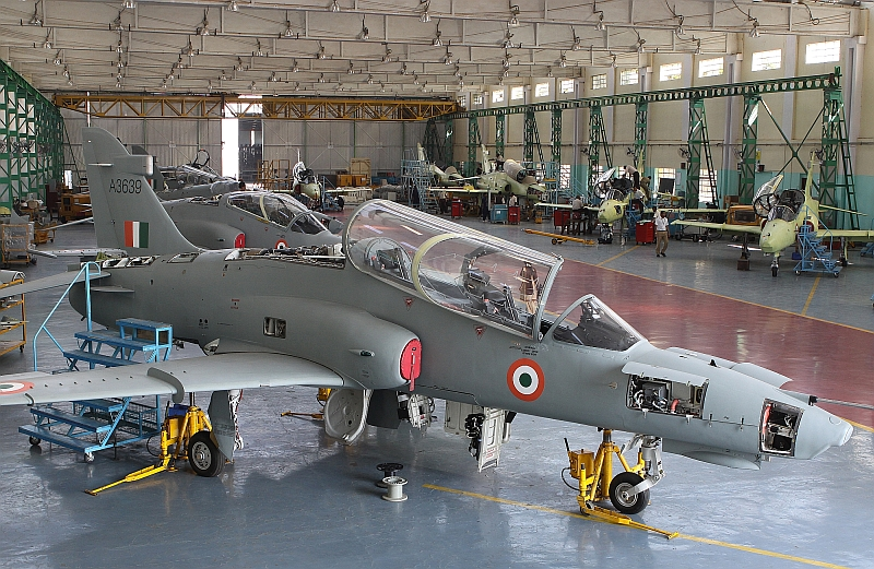 Production line of Hindustan Aeronautics Limited (HAL).