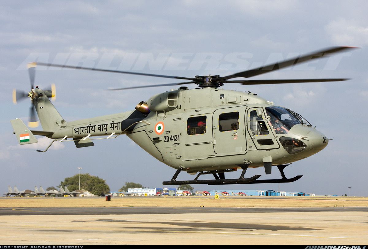 ALH Dhruv of the Indian Navy. Source - Net.