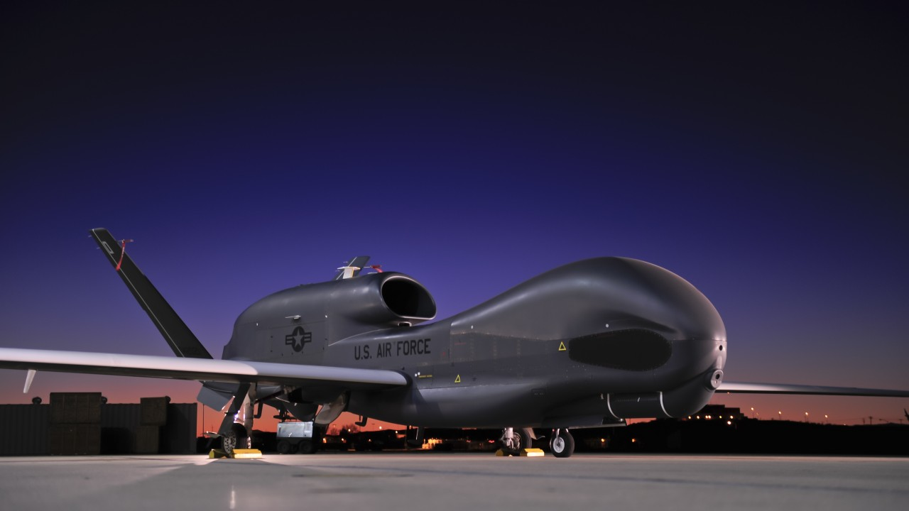Global Hawk UAV is one of the biggest drone to have ever been developed.