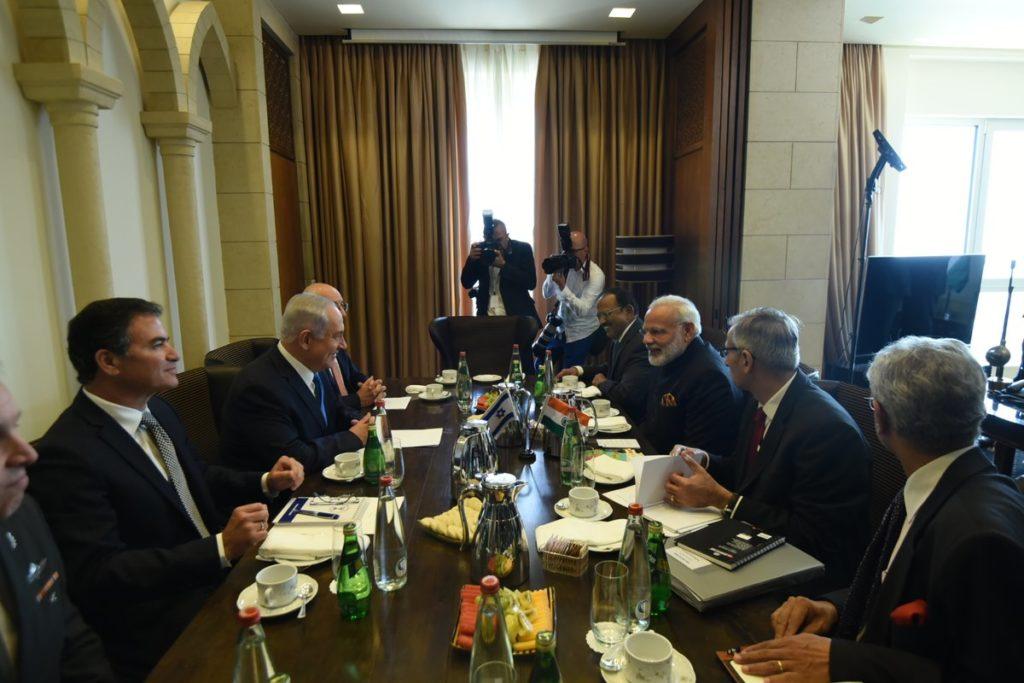 PM Modi, PM Narendra Modi, PM Benjamin Netanyahu, India, Israel